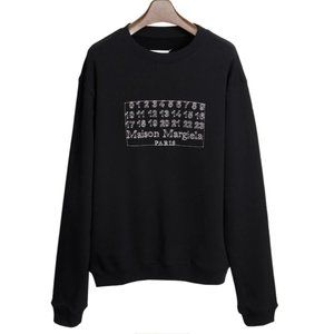 MAISON MARGIELA Numbers Logo Sweatshirt